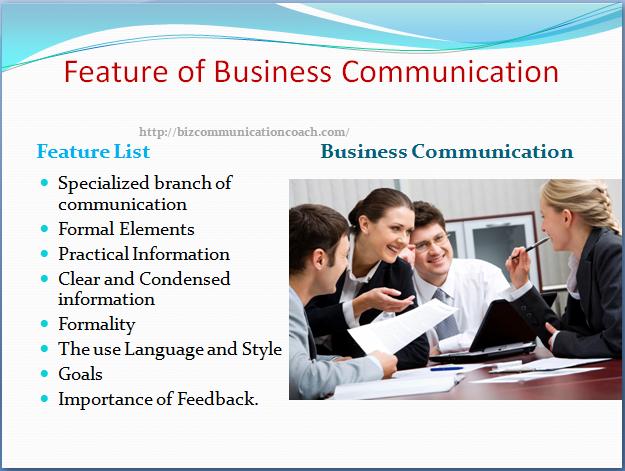 Business Communication Characteristic