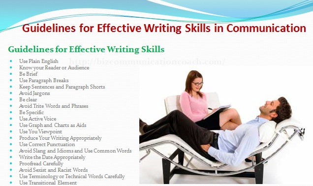 Guidelines for Effective Writing Skills in Communication