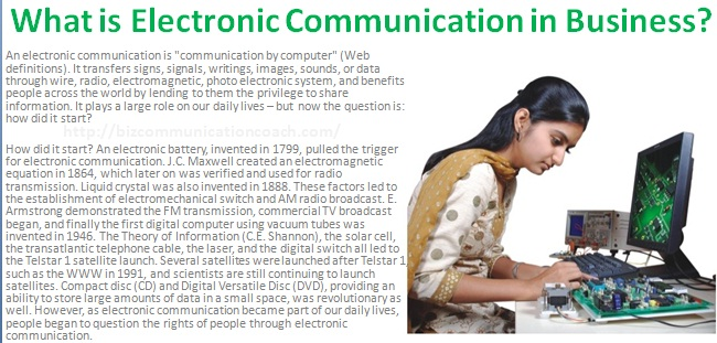 What is Electronic Communication