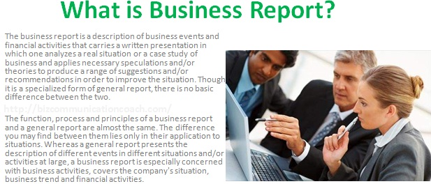 What Is Business Report Characteristics Of Business Report  Business Communication  What Is Business Report