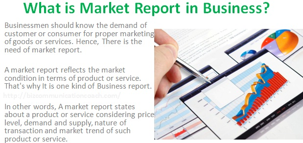 What Is Market Report In Business Importance Of Market Report