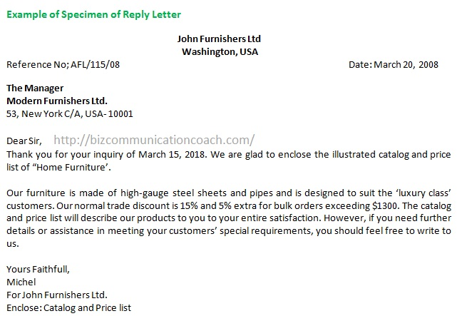 What is reply letter rules for drafting reply letter what is reply letter spiritdancerdesigns Gallery